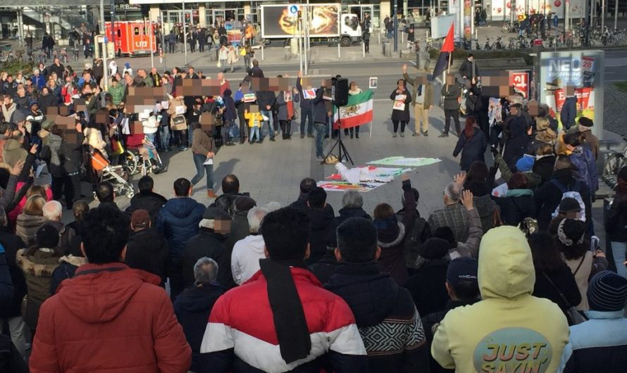 Dortmund: Solidaritätskundgebung mit den Kämpfen im Iran