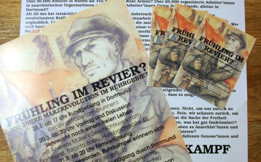 Material für die 100 Jahre Märzrevolution Kampagne verfügbar