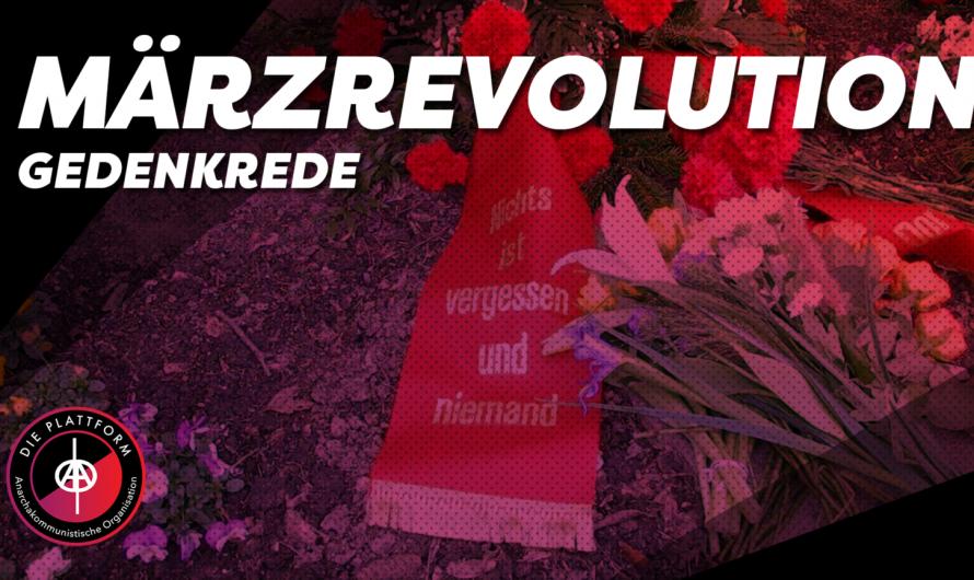 (DE/ENG) Gedenken an die Märzrevolution in Dortmund Eving