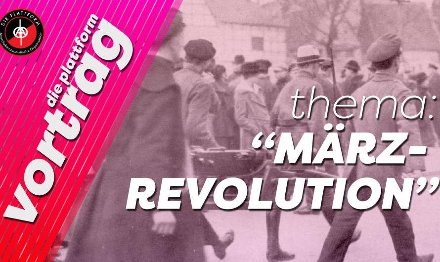Vortrag: Sehnsucht nach einem freien Leben – Dortmund 1920: Generalstreik, Rote Armee, Vollzugsräte