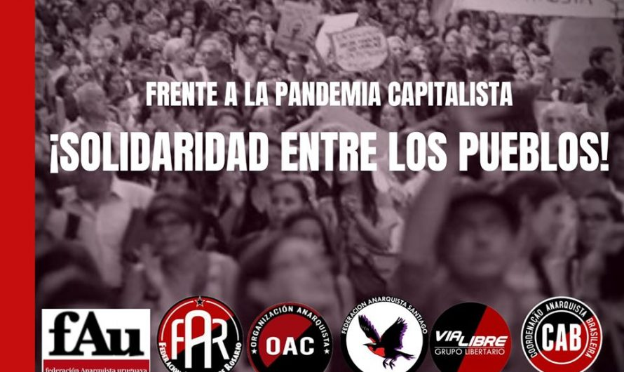 Against the Capitalist Pandemic, Solidarity between Peoples