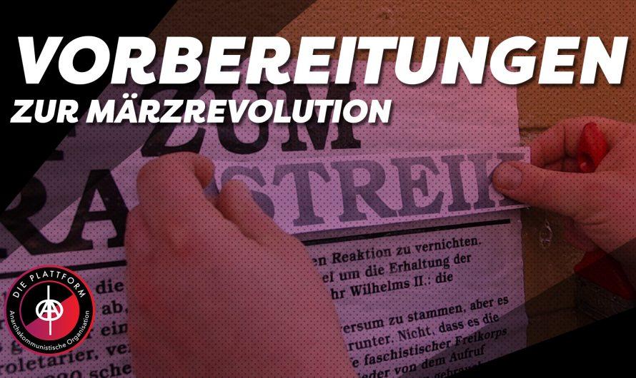 Vorbereitungen zur Märzrevolution – Outtakes