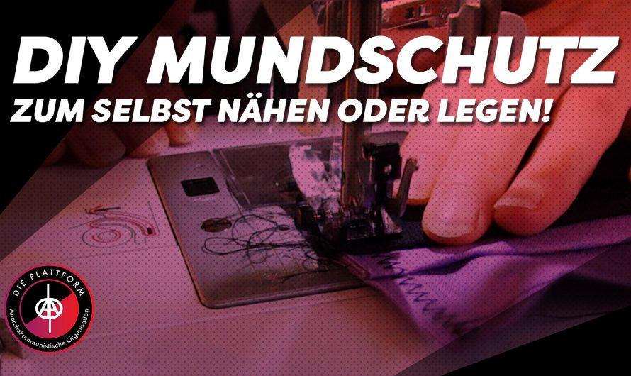 DIY Mundschutz zum selber nähen/legen! | Die Plattform Ruhr