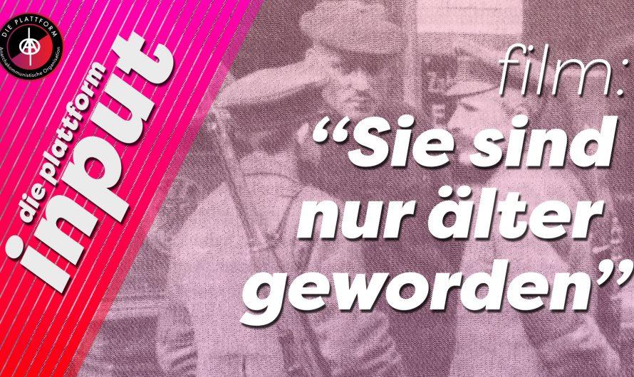 """Videopremiere vom Film """"Sie sind nur älter geworden – Ruhrkumpel erinnern sich"""""""