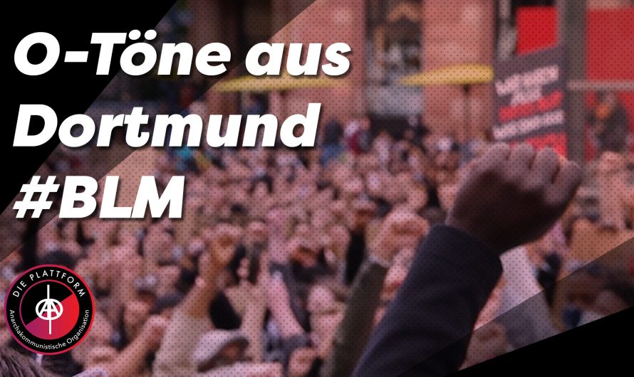Video: Stimmen von Silent #BlackLivesMatter Demo in Dortmund