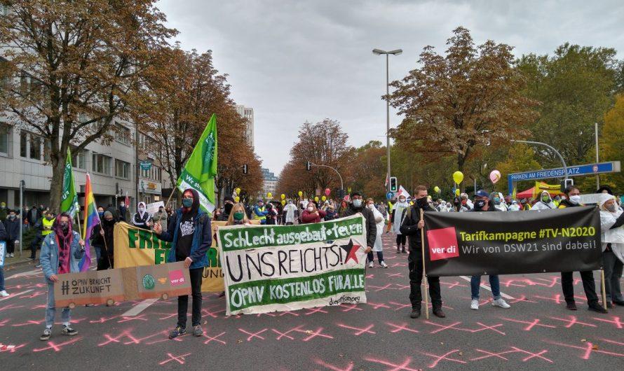 Dortmund: Streikkundgebung im öffentlichen Dienst