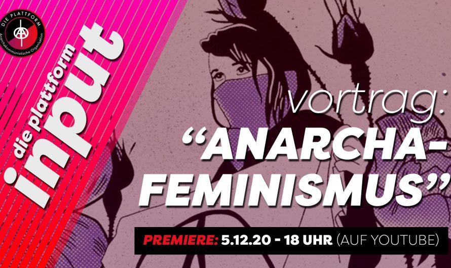 YouTube-Premiere vom Anarchafeminismus Vortrag!