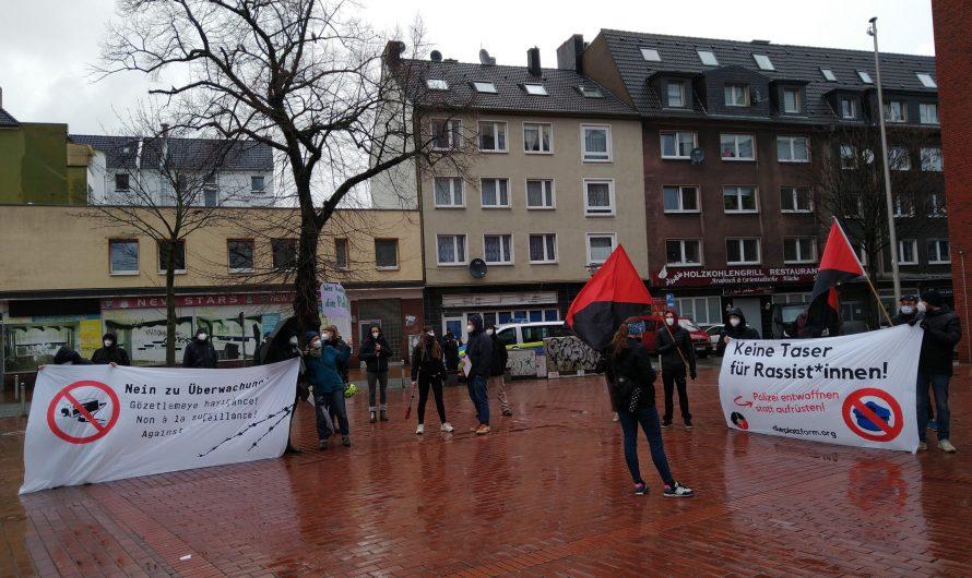Keine Taser für die Polizei! – Bericht von der heutigen Kundgebung in der Dortmunder Nordstadt