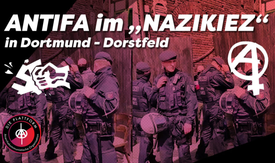 "Dortmund: Antifaschist*innen dringen in angeblichen ""Nazi-Kiez"" ein! (Video)"