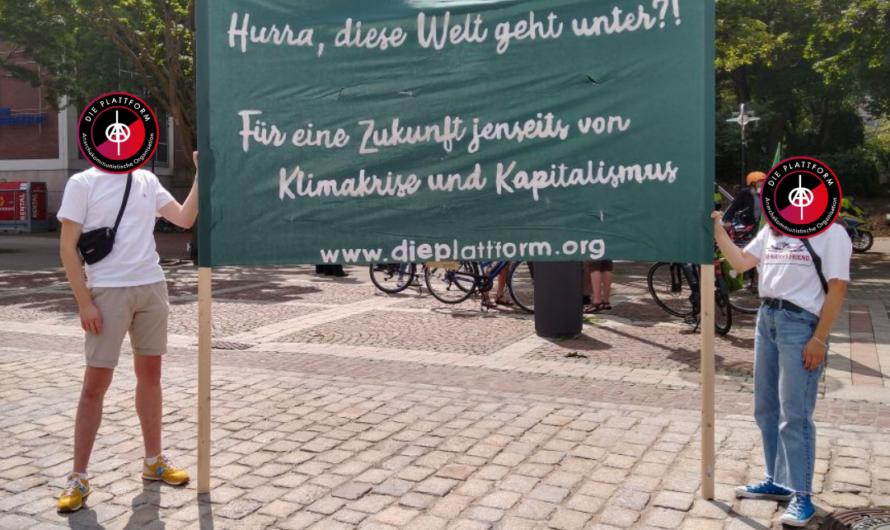Dortmund: 150 Menschen auf der Straße für Klimagerechtigkeit!