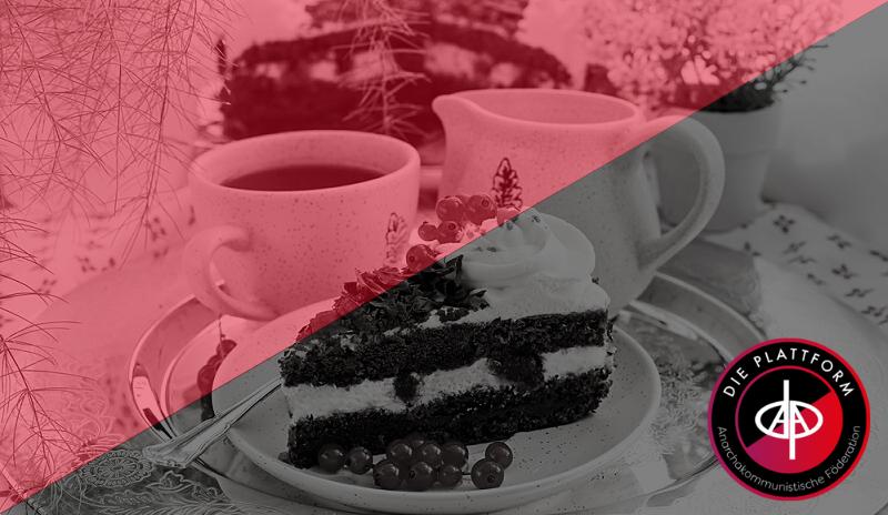 Kaffee und Kuchen im Oktober
